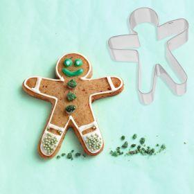 """Sausainių formelė """"Gingerbeard man"""" (8 cm)"""