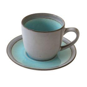 ORIGIN LIGHT BLUE puodelis su lėkštele (240 ml)