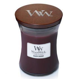 "WoodWick žvakė ""Black Cherry"""