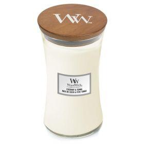 "WoodWick žvakė ""COCONUT & TONKA"""