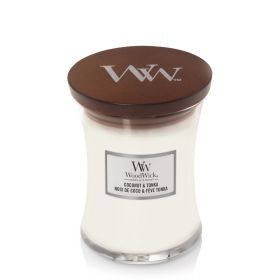"WoodWick žvakė ""Coconut Tonka"""