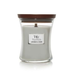 "WoodWick žvakė ""Lavender & Cedar"""