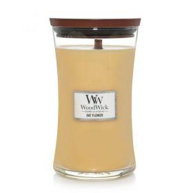"""WoodWick žvakė """"Oat Flower"""""""