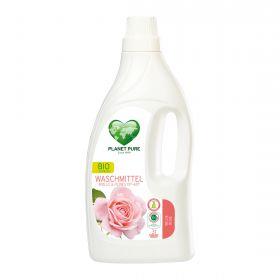 Ekologiškas PLANET PURE rožių skalbiklis šilkui ir vilnai (1,55 l)