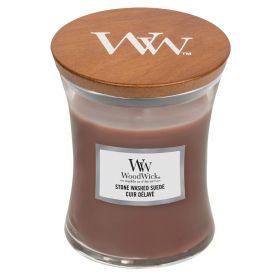 """WoodWick žvakė """"Stone Washed Suede"""""""