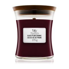 "WoodWick žvakė ""Black Plum Cognac"""