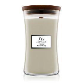 "WoodWick žvakė ""Fireside"""