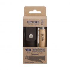 Užlenkiamas peilis su dėklu Opinel No°08 (8.5 cm)