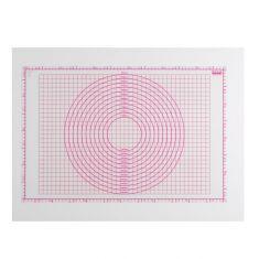 Graduotas silikoninis kilimėlis (60x40 cm)