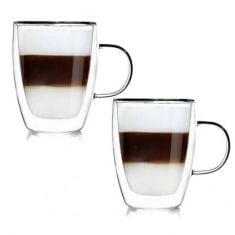 """Stikliniai puodeliai """"Andrea"""" (2vnt.; 350ml)"""