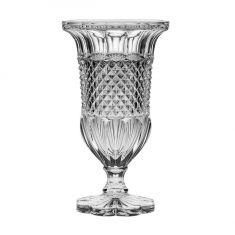 "Krištolo vaza ant kojelės ""Alexandria"" (30 cm)"