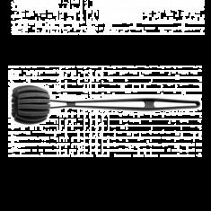Kempinėlė su kotu grafino valymui (41 cm)