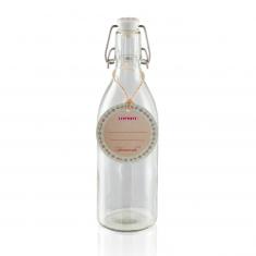 Stiklinis butelis su kamščiu (500 ml)