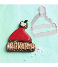 """Sausainių formelė """"Santa hat"""" (8 cm)"""