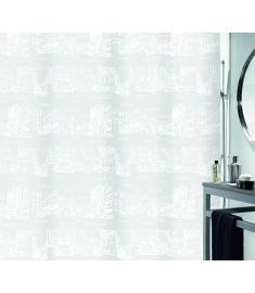 """Vonios užuolaida """"Places White"""" (180x200 cm)"""