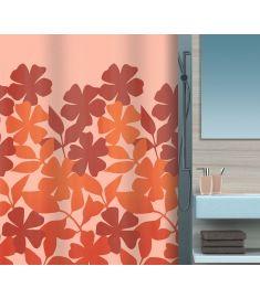 "Vonios užuolaida ""Fleury Orange-Cream"" (180x200 cm)"