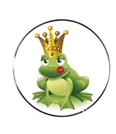 "Vonios kaištis ""Frog King Green"""