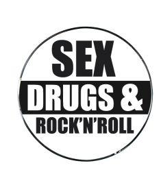 "Vonios kaištis ""Rock'n' Roll Black"""