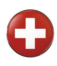 "Vonios kaištis ""Swiss Red-White"