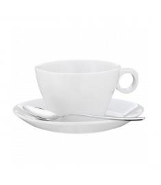 """Cappuccino puodelis su lėkštute ir šaukšteliui """"Barista"""""""