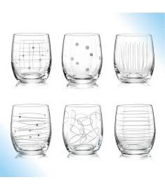 """Stiklinės """"Elements"""" (300 ml; 6 vnt.)"""