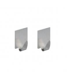 """Pakabėlės """"Metal"""" (2 vnt.; 3,5 x 3,5 cm)"""