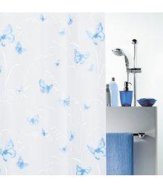 """Vonios užuolaida """"Butterfly Blue"""" (180x200 cm)"""