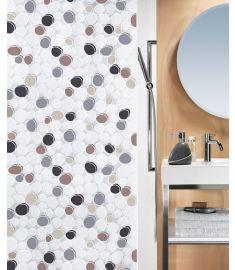 """Vonios užuolaida """"Dido Grey-Brown"""" (180x200 cm)"""