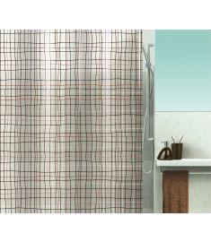 """Vonios užuolaida """"Filafil Brown"""" (180x200 cm)"""