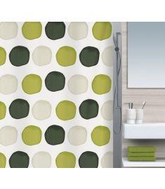 """Vonios užuolaida """"Nubo Leaf Green"""" (180x200 cm)"""