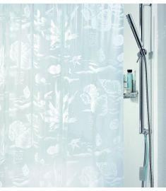 "Vonios užuolaida ""Riff White"" (180x200 cm)"