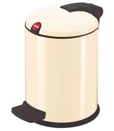 """Šiukšliadėžė """"Hailo Trento design 4"""" (4l; kreminė)"""