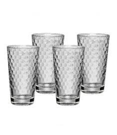 "Stiklinės ""Coffee Time"" (4vnt.; 0,28 l)"