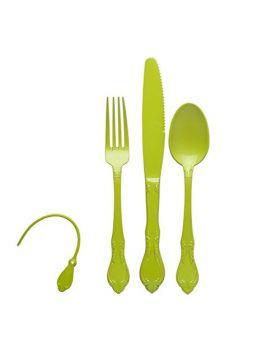 Plastikinių stalo įrankių rinkinys (3vnt.)